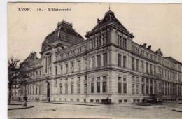 2817  Postal  Francia Lyon Universidad - Lyon