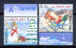 Moldova 2014 Moldavia / Christmas MNH Navidad Nöel Weihnachten / C9217  5 - Navidad