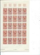 MADAGASCAR 1960 - YT N� 352 FEUILLE COMPLETE NEUF SANS CHARNIERE ** (MNH) GOMME D'ORIGINE LUXE ESSAI DE COULEUR - RARE