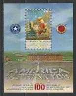 Armenia. MI. # BL 67 MNH S/sheet. Centennial Of Armenian Genocide. 2015 - Armenia