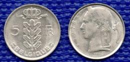 BELGIEN 5 Francs 1978. - 05. 5 Frank