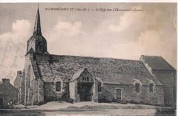 PLEDELIAC (C-du-N.)  - L´Eglise (Monument Classé) CPA écrite En 1927 - Autres Communes