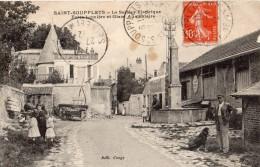SAINT-SOUPPLETS  LE SECTEUR ELECTRIQUE FORCE LUMIERE ET GLACE ALIMENTAIRE ANIMEE - France