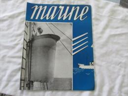 MARINE JOURNAL DE LA MARINE BELGE D AVRIL 1943 EDITE A LONDRE - Magazines & Papers