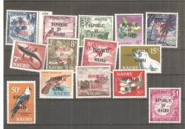 Serie Nº 69/82 Nauru - Nauru