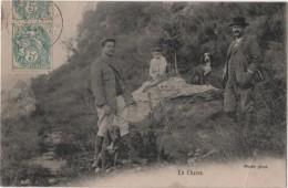 CPA 04 GREOOUX les Bains Porte Photo Chasse au Li�vre TOP