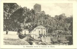 LA ALHAMBRA DESDE LA CARRERA DE DARRO - Granada