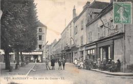 MARCIGNY  - Un Coin Du Cours ,animée (edts ZZ ) - Other Municipalities