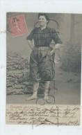 Port-des-Barques (17) : GP D'une Pêcheuse  En 1905 (animé) PF. - Altri Comuni
