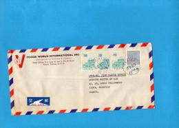 MARCOPHILIE-lettre- -TAIWAN Pour Françe- -cad-1976-4-  Stamps N°594A Palais Changstan - 1945-... République De Chine