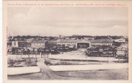 MONTPELLIER GARE DE LATTES GRAND PARC D'ENTRETIEN ET DE REPARATIONS MITJAVILE - Montpellier