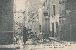 13 // SALON DE PROVENCE   RUE PALAMARD   SEISME JUIN 1909 - Salon De Provence