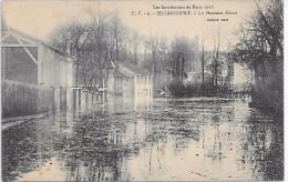 Les Inondations De Paris 1910 - BILLANCOURT - Le Hameau Fleuri - Boulogne Billancourt