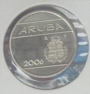 ARUBA 25 CENTS 2006 PICK KM3 UNC - Monedas