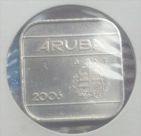 ARUBA 50 CENTS 2006 PICK KM4 UNC - Monedas