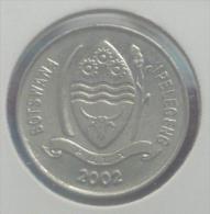 BOTSWANA 10 THEBE 2002 PICK KM27 AU/UNC - Botswana