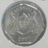 BOTSWANA 25 THEBE 2007 PICK KM28 UNC - Botswana
