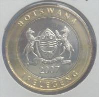 BOTSWANA 5 PULA 2007 PICK KM30 UNC - Botswana