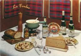 CPM - La Fondue - Recettes (cuisine)