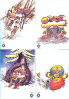 "Sarajevo  1984. The XIV Olympic Winter Games.   ""VUCKO"" 12 Pieces. - Juegos Olímpicos"