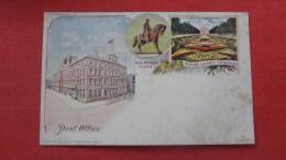 - Pennsylvania> Philadelphia ( American Souvenir Card     Note Staining On Card ------ ------ref 1891 - Philadelphia