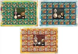 2015 SHEETLET Pearls Sea Shell Marine Life Fish Stamp Malaysia MNH - Malaysia (1964-...)