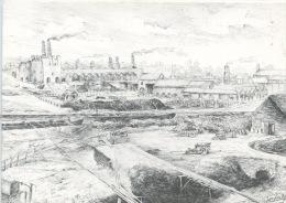 Belgique : Le Pays Blanc : Etablissements Dumon Duquesne (fabrique De Ciments Jusque 1950) Dessin - Belgique