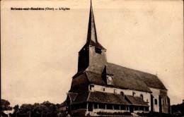 18-BRINON SUR SAULDRE..L'EGLISE.....CPA - Brinon-sur-Sauldre