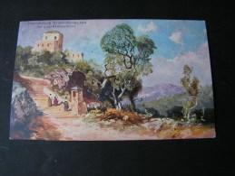 == Albanergebirge Italien , Kunsverlag Rehm Cassel No.121 Bayern 1911 - Peintures & Tableaux