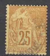 Colonies General Issues 1881 Yvert#53 Used