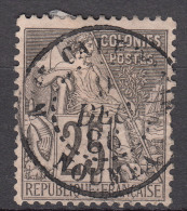 Colonies General Issues 1881 Yvert#54 Used, Noumea (New Caledonia)