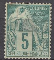 Colonies General Issues 1881 Yvert#49 Used