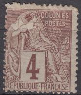 Colonies General Issues 1881 Yvert#48 Mint Hinged - Alphée Dubois