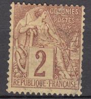 Colonies General Issues 1881 Yvert#47 Used