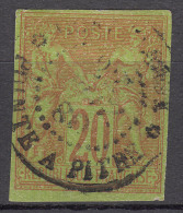 Colonies General Issues 1878 Yvert#42 Used (Pointe A Pitre)