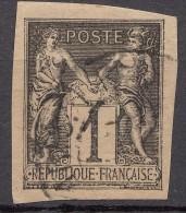 Colonies General Issues 1878 Yvert#37 Used (normal Paper?)