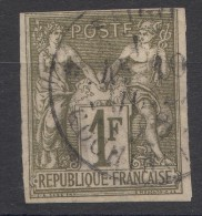 Colonies General Issues 1877 Yvert#29 Used, Cochin (Saigon China) Cancel