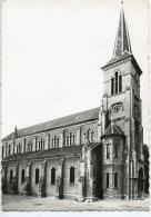 Grand Duché De Luxembourg : Bettembourg Village : L'église (ed Best Dentelée) - Bettembourg