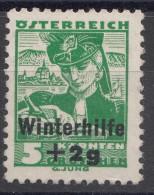 Austria 1935 Winterhilfe Mi#613 Mint Hinged
