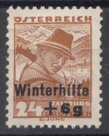 Austria 1935 Winterhilfe Mi#615 Mint Hinged