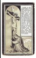 Bidprentje - Prosper Joseph DE GROOTE Zoon Van Pieter En Justina VANKERSSCHAVER - Heist Aan Zee 1877 - 1909 - Images Religieuses