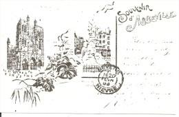 SOUVENIR D' ABBEVILLE 80100 (carte D' Invitation à La 1ère Expo Cartophile D' Abbeville En Mai 1979) - Abbeville