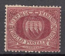San Marino 1890 Mi#7 Mint Hinged - Saint-Marin