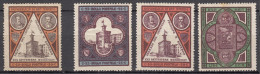 San Marino 1894 Mi#23-25 Two Different Colour Shades Of 50c, Mint Hinged - Saint-Marin
