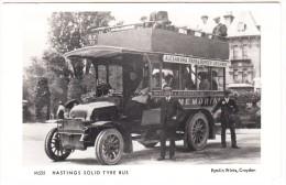 Hastings Solid Tyre Bus - 'Alexandra Park & Bopeep Archway'  - Hastings & St. Leonards Omnibus -  AUTOBUS/COACH - Autobus & Pullman