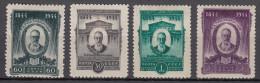 Russia SSSR 1944 Mi#918-921 A Mint Hinged