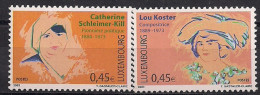 2003  Luxemburg Mi. 1599-0**MNH Bedeutende Frauen - Luxembourg