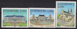 2003  Luxemburg Mi. 1601-3**MNH   Sehenswürdigkeiten - Luxemburg