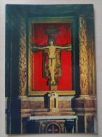 478- Cartolina Sarzana (SP) Crocifisso Della Cattedrale Di S.Maria Dipinto Del Guglielmi Postcard Carte Postale - Jésus