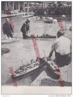 Au plus rapide Photo presse maquette maquettiste bateau Festival Grande Bretagne Royaume Uni 26 Juin 1951